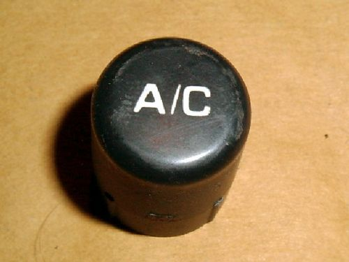 Heater control a/c button, Mazda MX-5 mk1, USED